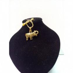 Amuleto Elefante dell'oro