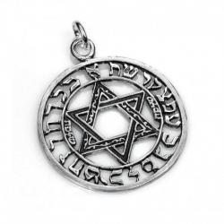 Amuleto Cabala Stella d 4 x...